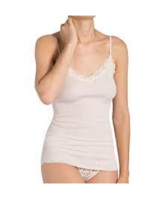 Apatiniai marškinėliai Triumph Silk Deluxe Lace Shirt01 76364