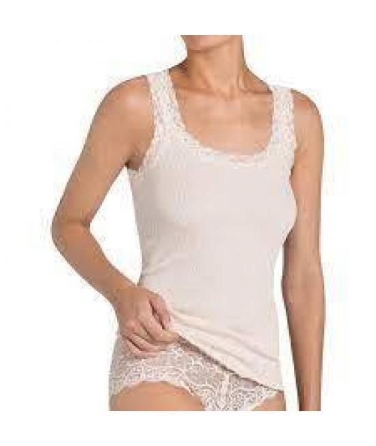 Apatiniai marškinėliai Triumph Silk Deluxe Lace Shirt02 76365