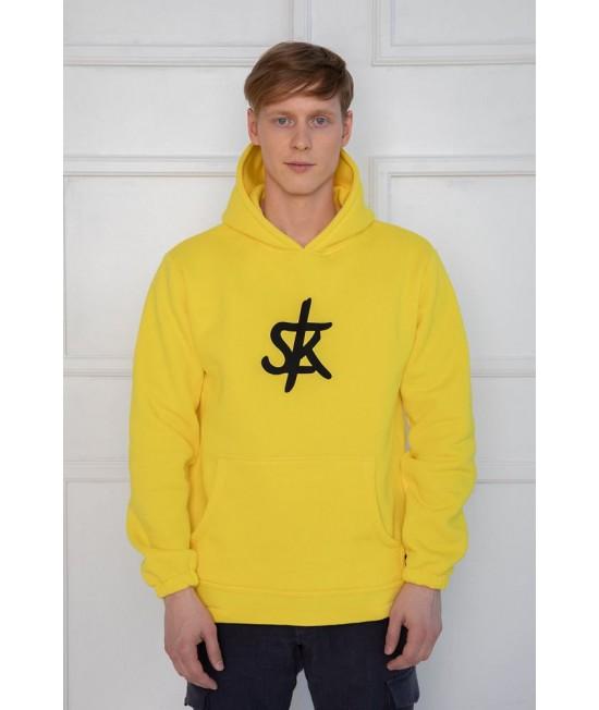 Džemperis Sofa Killer ryškiai geltonas SK logotipu 76288