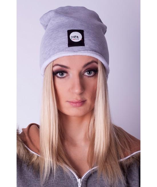 Kepurė Sofa Killer šviesiai pilka