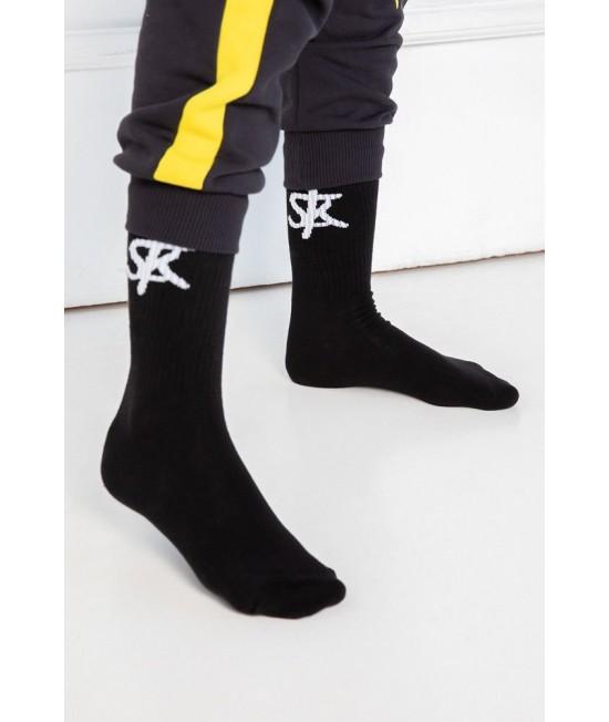 Kojinės Sofa Killer su baltu SK logotipu 13347