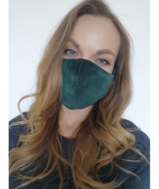 Veido kaukė Sofa Killer smaragdo spalvos 73968