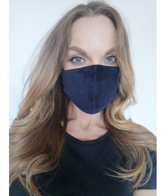 Veido kaukė Sofa Killer tamsiai mėlynos spalvos 73971