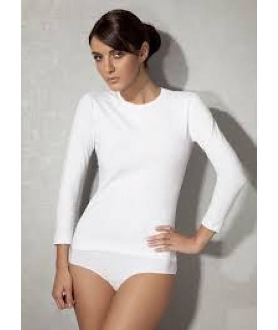 Moteriški juodi marškinėliai ilgom rankovėm 7 haeven 13261