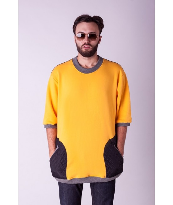 Džemperis Sofa Killer geltonas