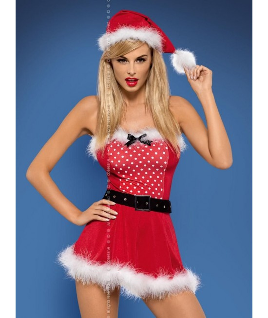 Teminis kostiumėlis Obsessive Claus dress