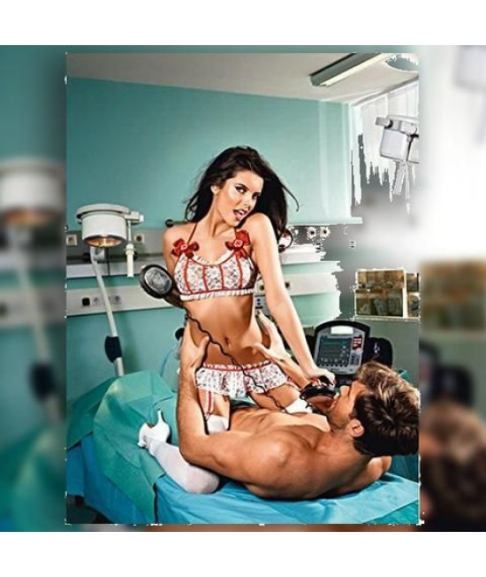 Teminis kostiumėlis Baci Emergency Nurse